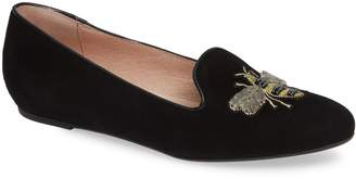 Patricia Green Embroidered Bee Loafer