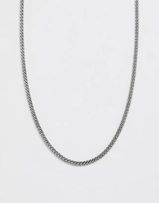 ICON BRAND curb neck chain in silver