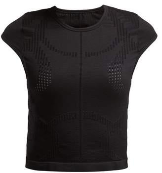 Pepper & Mayne Saskia Cropped T Shirt - Womens - Black