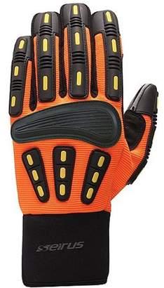 Seirus HWS Workman Men's Gripper Glove, Hi Vis Orange