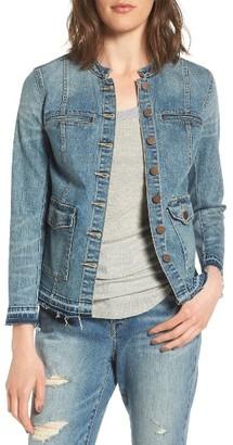 Women's Treasure & Bond Denim Jacket $99 thestylecure.com