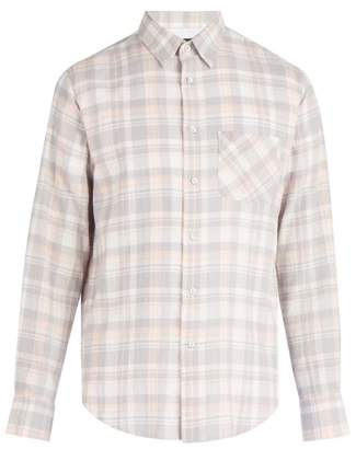 Rag & Bone Beach Plaid Cotton Flannel Shirt - Mens - Multi