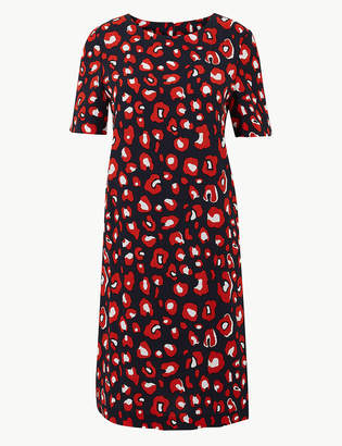 Marks and Spencer Animal Print Shift Dress