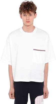 Thom Browne Medium Weight Cotton Jersey T-shirt