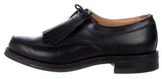 Ralph Lauren Purple Label Leather Kilties Shoes