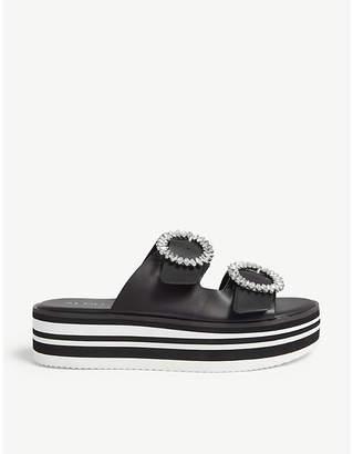 a7559b86c824 Aldo Leather Sandals For Women - ShopStyle UK