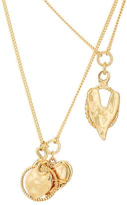 Womens Heart Fusion Station Necklace Givenchy 2XZVgs