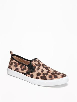 Leopard-Print Slip-Ons for Women $19.94 thestylecure.com