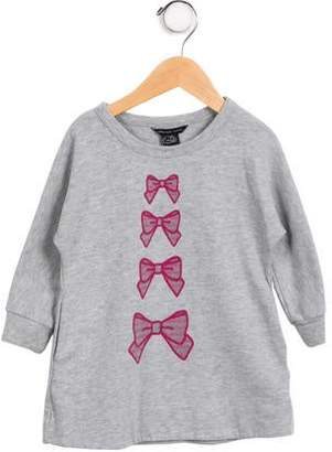 Little Marc Jacobs Girls' Graphic Knit Top