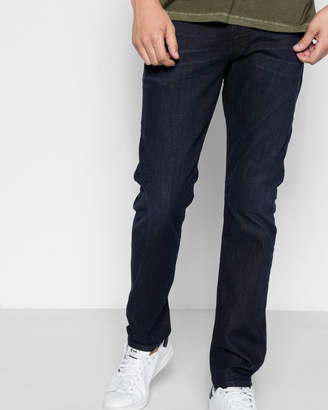 7 For All Mankind Luxe Performance Adrien Easy Slim with Clean Pocket in Dark Abyss