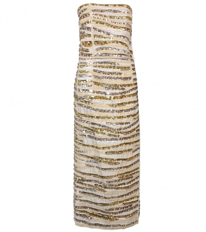 Marc Jacobs SEQUINED GOWN WITH MATCHING BRIEFS