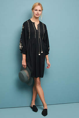 Velvet by Graham & Spencer Bettina Embroidered Tunic Dress