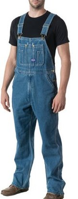 Big Smith Men's Stonewashed Denim Bib Overall