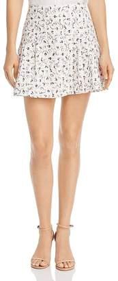 Aqua Embroidered Mini Skirt - 100% Exclusive
