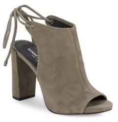 Daan Textured Block-Heel Sandals $170 thestylecure.com
