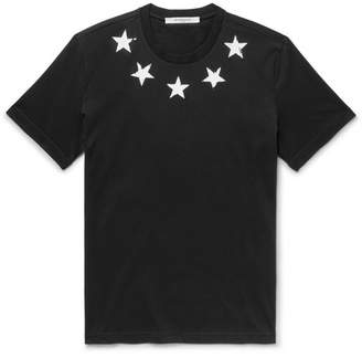 Givenchy Slim-Fit Printed Cotton-Jersey T-Shirt