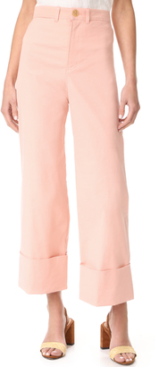 Sea Cuffed Pants $365 thestylecure.com