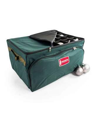 TreeKeeper 3-Tray Ornament Storage Bag with Front Pocket