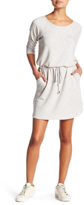 Cable & Gauge Adjustable Drawstring Sweater Dress (Petite) $68 thestylecure.com
