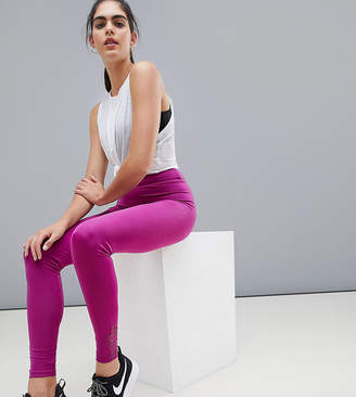 Asos 4505 Tall legging with lace cuff detail