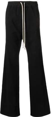 Rick Owens buttoned jogging trousers