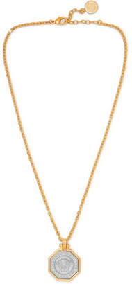 Versace Gold and Silver-Tone Necklace - Men - Gold
