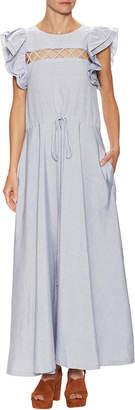 Jill Stuart Tiered Crewneck Dress