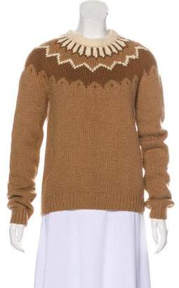 Michael Kors Camel Patterned Sweater