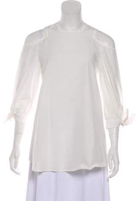 Timo Weiland Carrie Cold-Shoulder Top w/ Tags