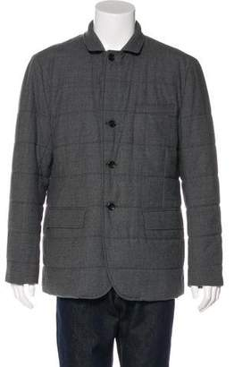 Vince Wool Quilted Jacket