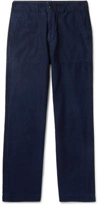 Blue Blue Japan Indigo-Dyed Cotton Trousers