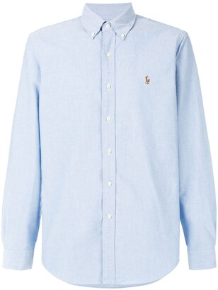 Ralph Lauren logo embroidered shirt