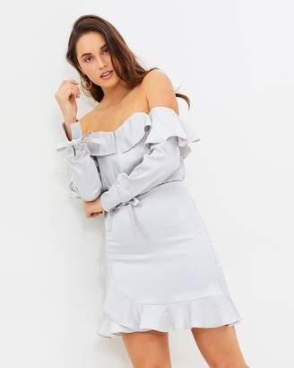 Lumier Luella Off-Shoulder Frill Dress