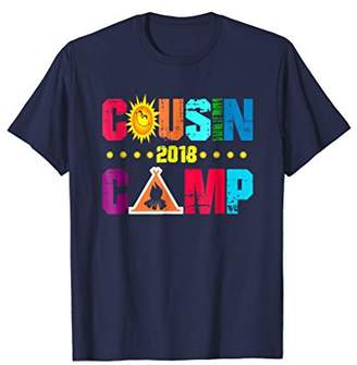 Cousin Camp 2018 Family Vacation Tshirt