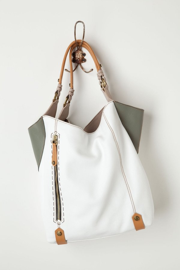Anthropologie Corner Color Tote
