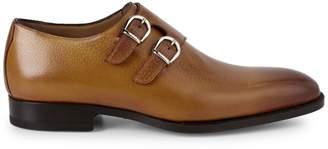 Di Bianco Almond-Toe Leather Oxfords