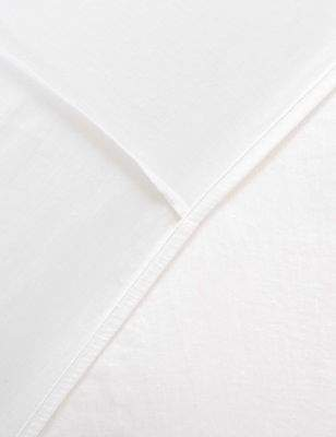 Marks and Spencer Pure Linen Deep Fitted Sheet