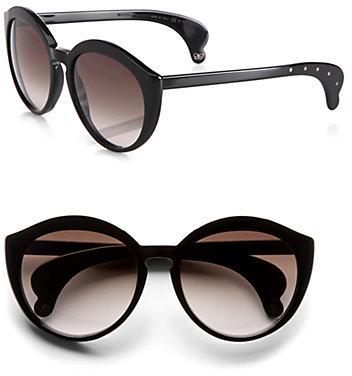 Bottega Veneta Cat's-Eye Acetate Sunglasses