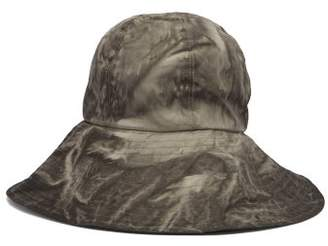 Reinhard Plank Hats - Paz Wide Brim Bucket Hat - Womens - Dark Grey