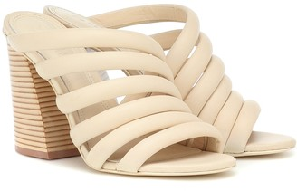 Mercedes Castillo Izzie High leather sandals
