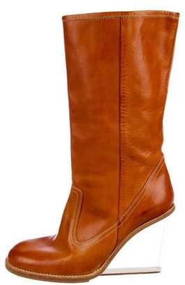 Maison Margiela Wedge Mid-Calf Boots