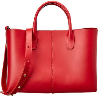Mansur Gavriel Mini Folded Leather Tote