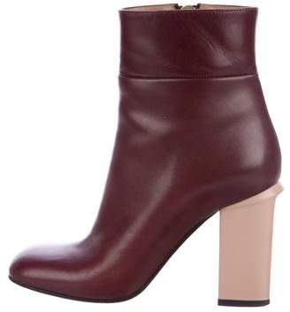 Marni Bicolor Ankle Boots