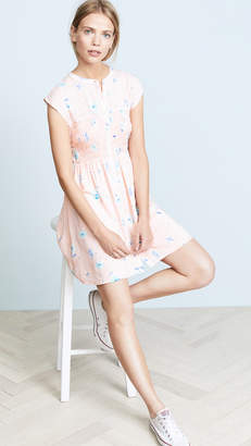 Free People Greatest Day Smocked Mini Dress