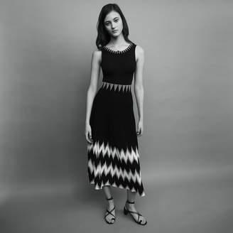 Maje Long sleeveless knit dress