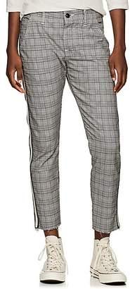 NSF Women's Tashi Plaid Crop Trousers - Gray