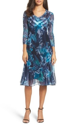 Women's Komarov Chiffon A-Line Dress $318 thestylecure.com