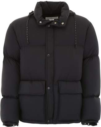 Golden Goose Puffer Jacket With Logo