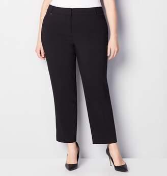 Avenue Plus Size Super Stretch Trouser With Comfort Waist