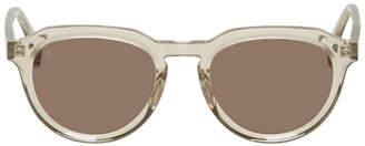 Raen Transparent Sage Sunglasses